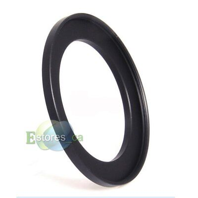Black 40.5mm-58mm 40.5-58mm 40.5mm to 58 Metal Step Up Lens Filter Ring Adapter