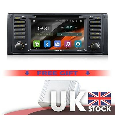 """Android 5.1.1 7"""" Touchscreen Car DVD GPS & DAB+ Digital Audio box for BMW E39"""