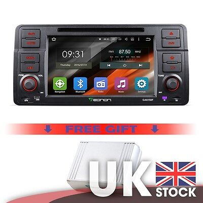 """Android5.1.1 7"""" Touchscreen GPS DVD player & DAB+ Digital Audio box for BMW3 E46"""