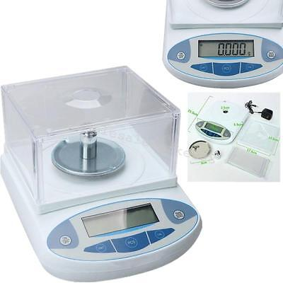 Accurate 200 x 0.001g 1mg Lab Analytical Balance Digital Precision Scale LCD Hot