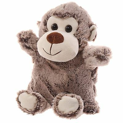 Snuggables Microwaveable Monkey 28cm High Hand Bed Warmer Wheat Bag & Cover