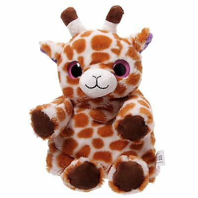 Snuggables Microwaveable Giraffe 28cm High Hand Bed Warmer Wheat Bag & Cover