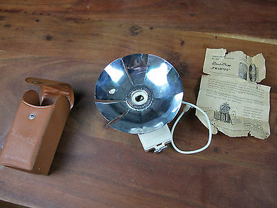 Vintage  Duo Lux Princess Bulb Flash- MADE IN WEST GERMANY