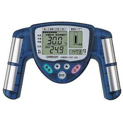 OMRON Body fat meter Composition & Scale HBF-306-A Blue JAPAN