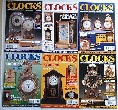 CLOCKS MAGAZINES -  1997 - Fourteen copies - Jan to Dec.