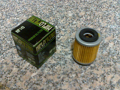 5 x Oil Filters - HF143 for MBK 125 XC K Flame R 97-99