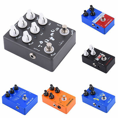 Caline Electronic Guitar Effect Pedals Heavy Metal Distortion/ Delay/ Over Drive