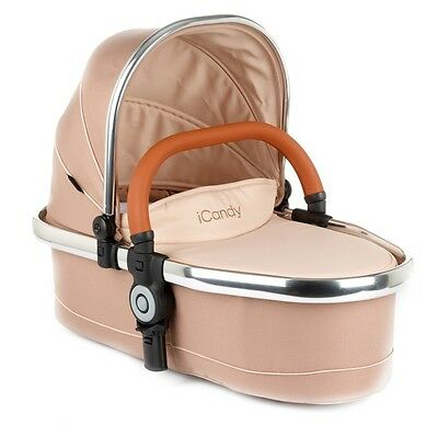 icandy peach lower carrycot In Butterscotch With Adapters