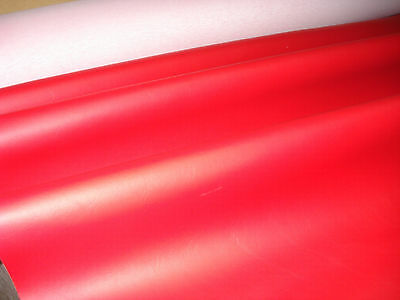 Red  FAUX LEATHER Leatherette Leathercloth Upholstery Fabric Material