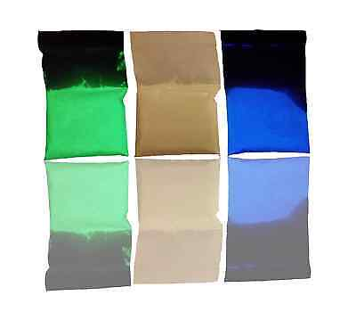 GLOW IN THE DARK PIGMENT PHOSPHOR POWDER - FREE 3g BAG WITH EVERY PURCHASE!
