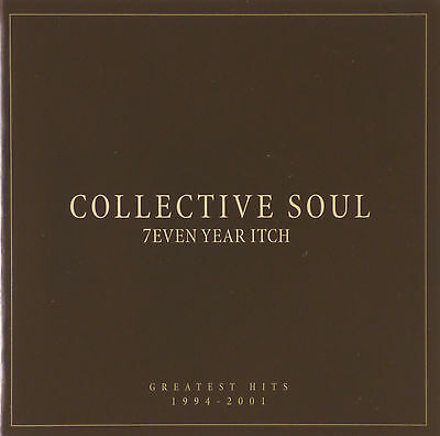 CD - Collective Soul - 7even Year Itch: Greatest Hits 1994-2001 - #A1519
