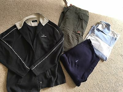 Men's Clothes Bundle YvesSaintLaurent, Fred Perry