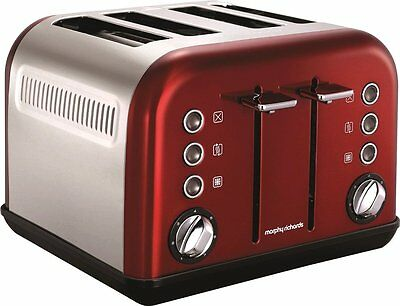 Grille-pain Morphy Richards Accents 242004 rouge