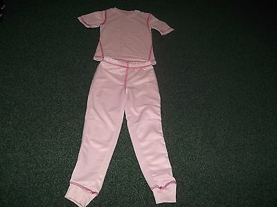 Girls pink thermal wear age 5/6 years
