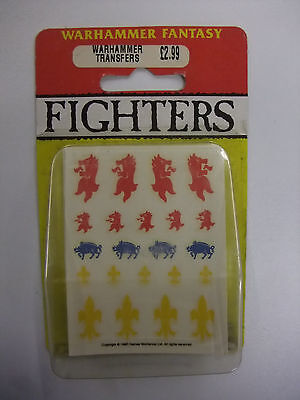 Warhammer Fantasy Fighter Trasnfers in blister pack