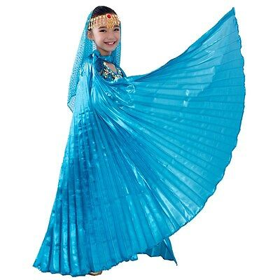 Isis Wings Belly Dance Angel Wings Kids Performance & Practice Play with Sticks