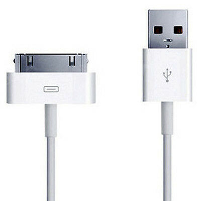Original USB Data Cable Sync Charge for iPhone 4S 4 3GS ipad 2 ipad 3 iTouch Top