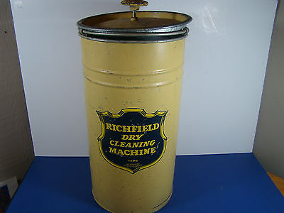 Vintage RICHFIELD DRY CLEANING MACHINE Made By The Richfield Oil Co. California