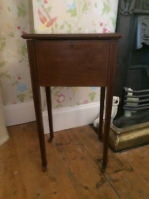 Edwardian Sewing Box Side Table