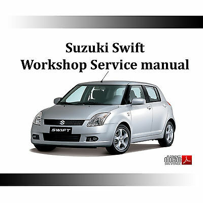 Suzuki SWIFT WORKSHOP SERVICE REPAIR MANUAL 2004-2010