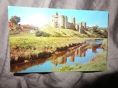 Carmarthenshire postcard C1980 COLOURMASTER Kidwelly The Castle V/S