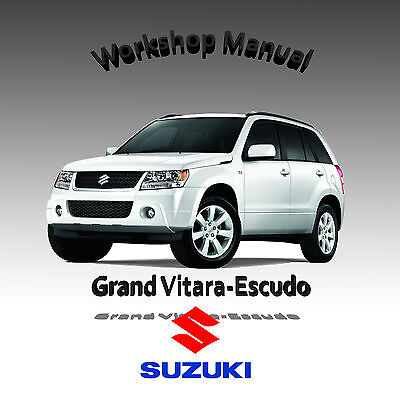 Suzuki Grand Vitara-Escudo 4 Language Pack Workshop Service Repair Manual