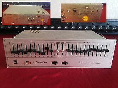 Soundcraftsmen 20-12A WITH ALL KNOBS Audio Frequency Graphic Equalizer 110V