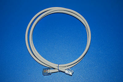 1M Cat5e Modem cable ADSL2 VDSL RJ11 Twisted Pair lead High speed Broadband