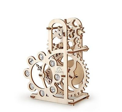 Dynamometer UGEARS 3D Mechanical Wooden Model for self-assembly