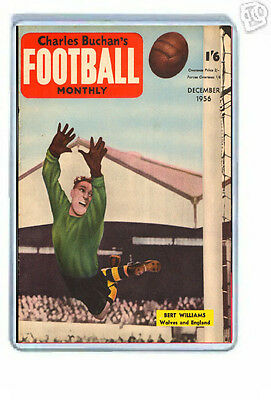 Charles Buchans Football Monthly 1956 Cover  Fridge Magnet