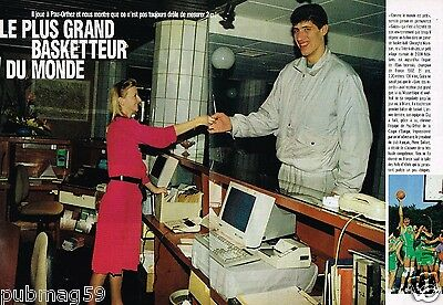 Coupure de Presse Clipping 1992 (4 pages) Pau Orthez Gheorghe Muresan