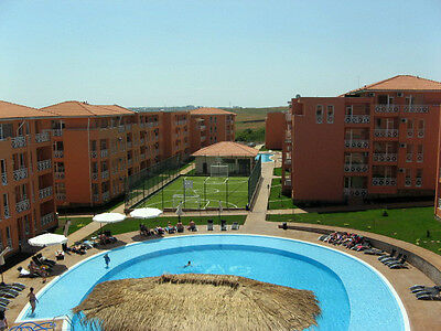 New Holiday Apartment studio for sale in Bulgaria Sunny day 6 near  Sunny beach