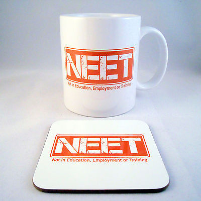 NEET Mug - Not in Education, Employment or Training - Graduation - Retirement