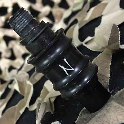 NEW Ninja Aluminum Replacement Slide Check for Paintball Remote Lines - Black