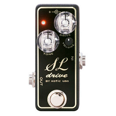 XOTIC SL Drive Compact Distortion Guitar Effect Pedal GENTLY USED