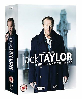 Jack Taylor: Series 1-3 DVD [6 Discs] Box Set NEW & SEALED