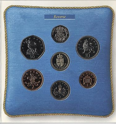 1988 United Kingdom Brilliant Uncirculated Coin Set***Collectors***(UK881)