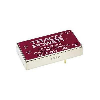 1 x TRACOPOWER Isolated DC-DC Converter THB 10-4812, Vin 36-75V dc, Vout 12V dc