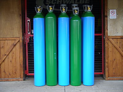 Argon Lite (5% Mix) Gas Cylinder, 50litre size, 200 bar fill* for Mig Welding.