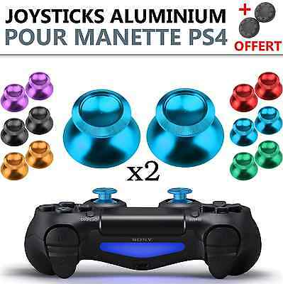 x2pcs Aluminum Metal Joystick Thumb Stick Analog for PS4 Controller Dualshock 4