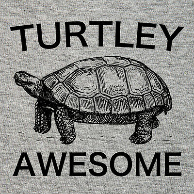 Turtley Awesome T shirt funny tortoise Turtles Rock! funny gift amniote lover