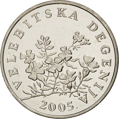 [#504459] Kroatien, 50 Lipa, 2005, UNZ+, Nickel plated steel, KM:8
