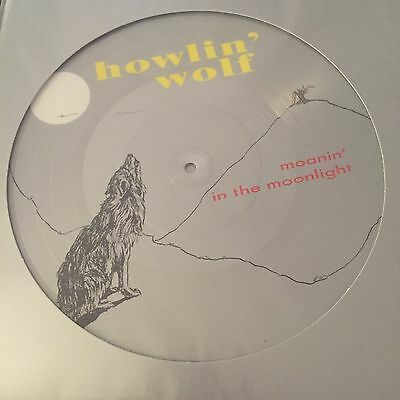 Howlin' Wolf 'Moanin' In The Moonlight' Brand New Picture Disc lp / Vinyl