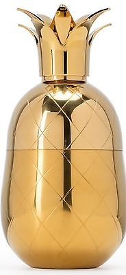 Gold Pineapple Cocktail Shaker by W&P Design New Great Gift Mixer