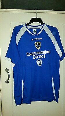Cardiff city football shirt