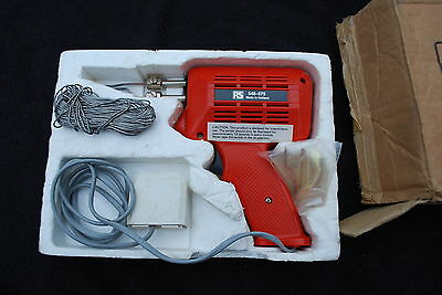 RS Instant Heat Solder Gun stock number 548-675 in box with spare tip vgc