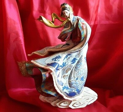 Empress of The Snow Porcelain  Figurine: By The Franklin Mint - Simply Stunning