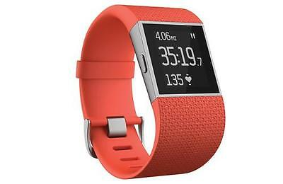 Fitbit Surge Tangerine Orange Large - Fitness Watch - New - OFFICIAL - RRP £169