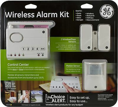 GE Choice Alert Wireless Alarm Kit