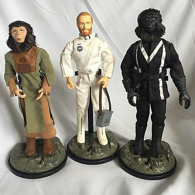 "Hasbro Planet Of The Apes 12"" Action Figures Collectable Job Lot Toy Bundle Sale"